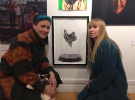 My piece 'Krystallos' showing on the experimental section